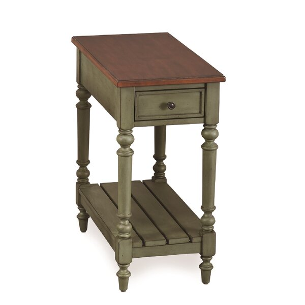 Duffy End Table With Storage By Ophelia & Co.