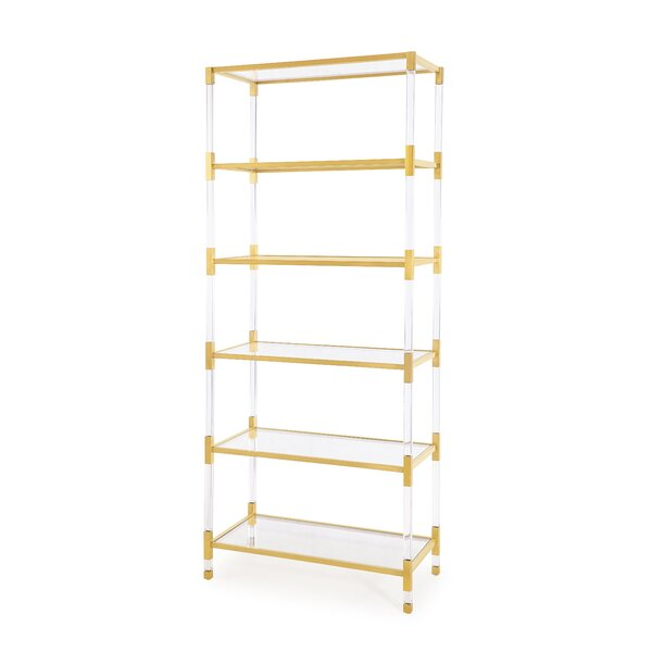 Home & Outdoor Athens Etagere Bookcase