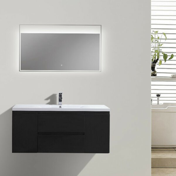 Lina 47 Single Bathroom Vanity Set by Orren Ellis