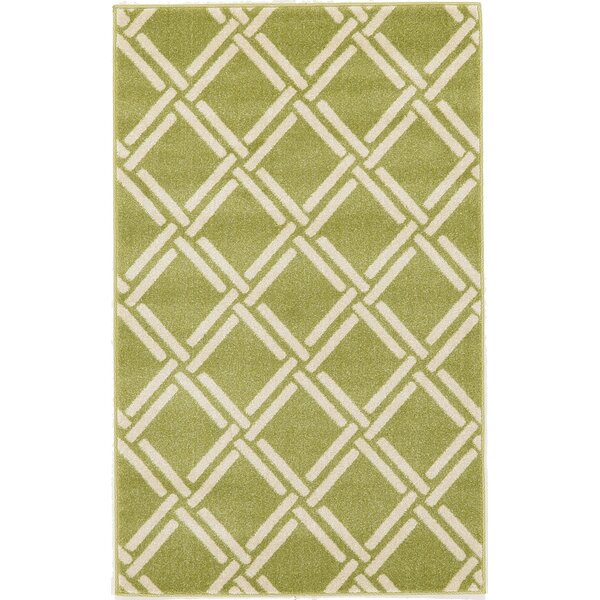 Storyvale Green Area Rug by Beachcrest Home