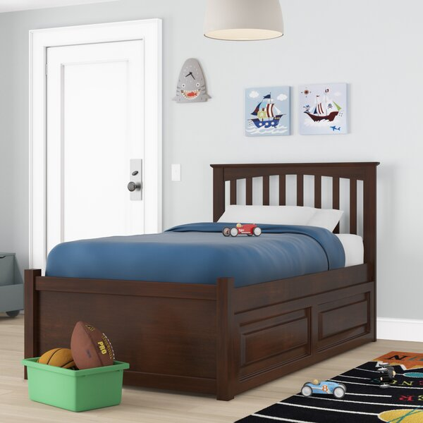 Arkwright Platform Bed with Trundle by Andover Mills