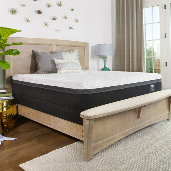Hybrid™ Essentials Trust II 12 Firm Mattress and 9 Box Spring by Sealy