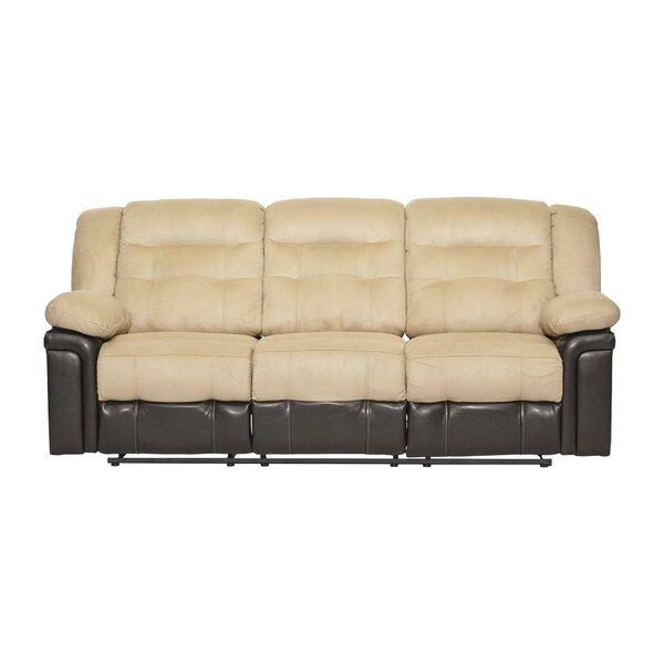 Serta Upholstery Double Reclining Sofa by Serta Upholstery