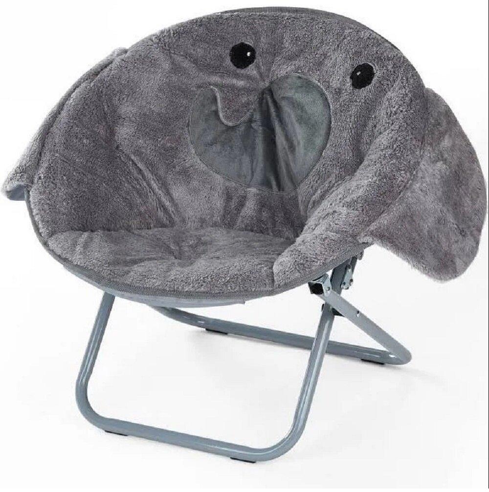 Magnificent Brillion Elephant Kids Saucer Chair Pabps2019 Chair Design Images Pabps2019Com