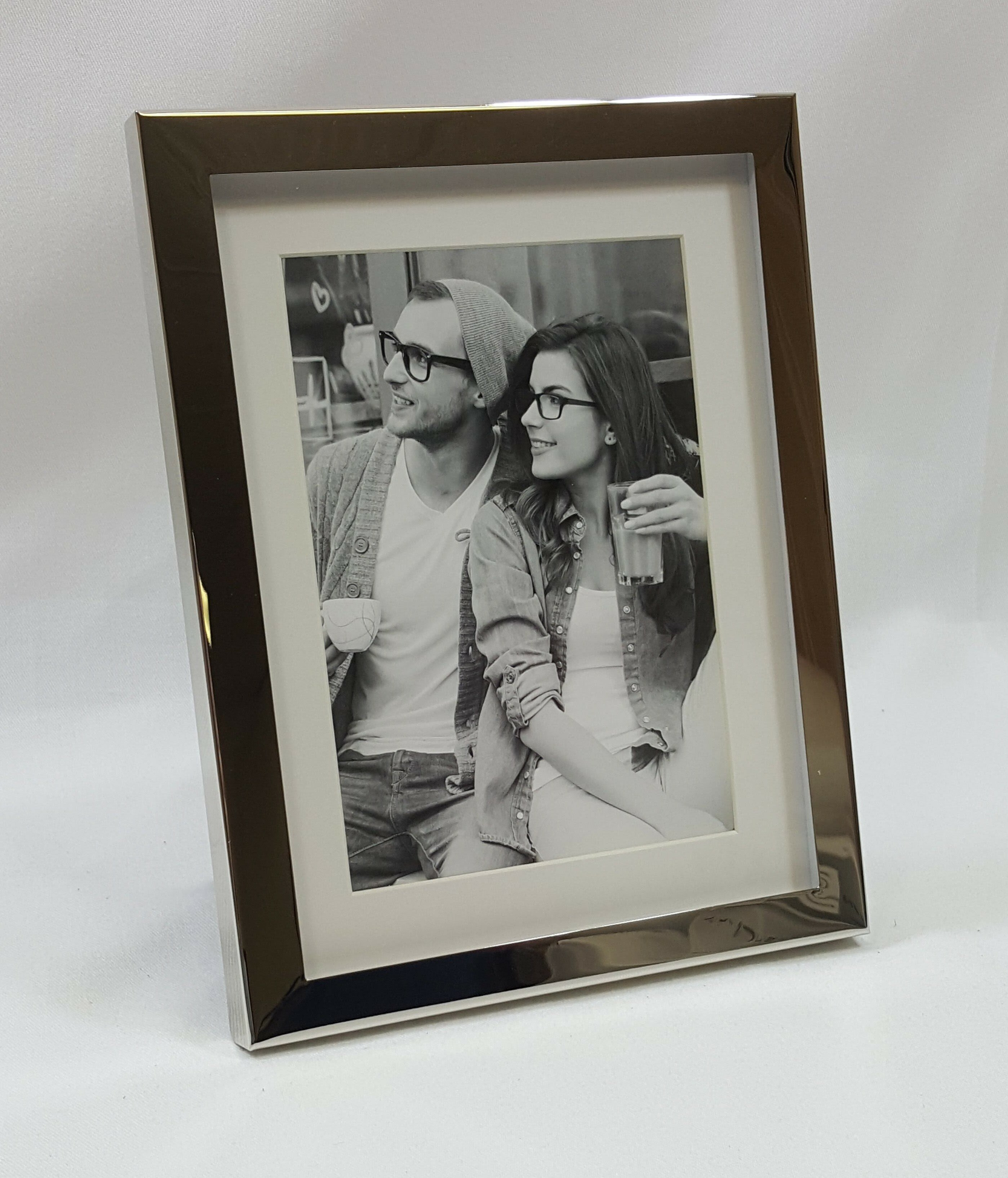 Tabletop 8x10 Antique Pewter Finish With Crystals Wedding Picture Frame Wall Home Garden Boitaloc Home Decor