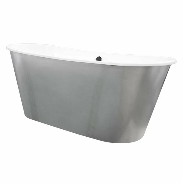 Woodward Cast Iron 67 x 26 Freestanding Soaking Bathtub by Maykke