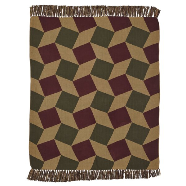 Helle Jacquard Woven Cotton Throw by Loon Peak