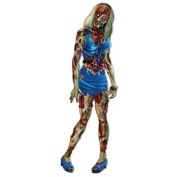 Halloween Jointed Zombie Girl by The Holiday Aisle