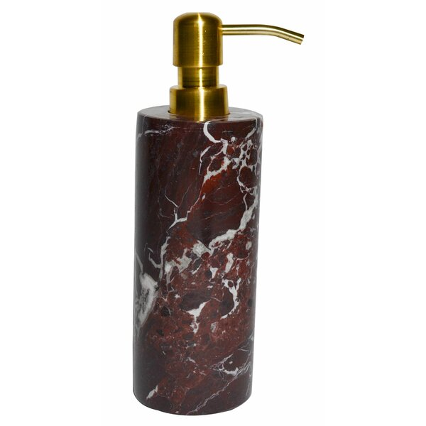 Polished Marble Alicia Lotion Dispenser by Darby Home Co