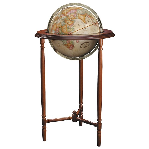 Saratoga Antique World Globe by Replogle Globes