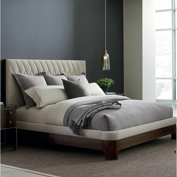 Modern Streamline Platform Bed by Caracole Modern