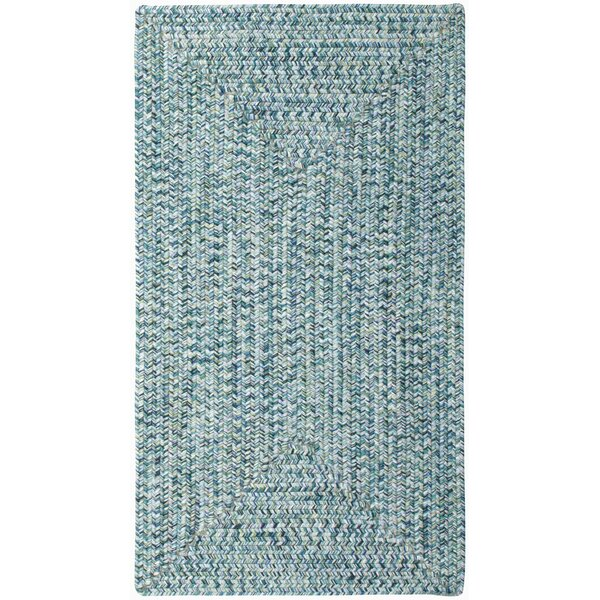 Lemon Grove Ocean Blue Outdoor Area Rug by Beachcr