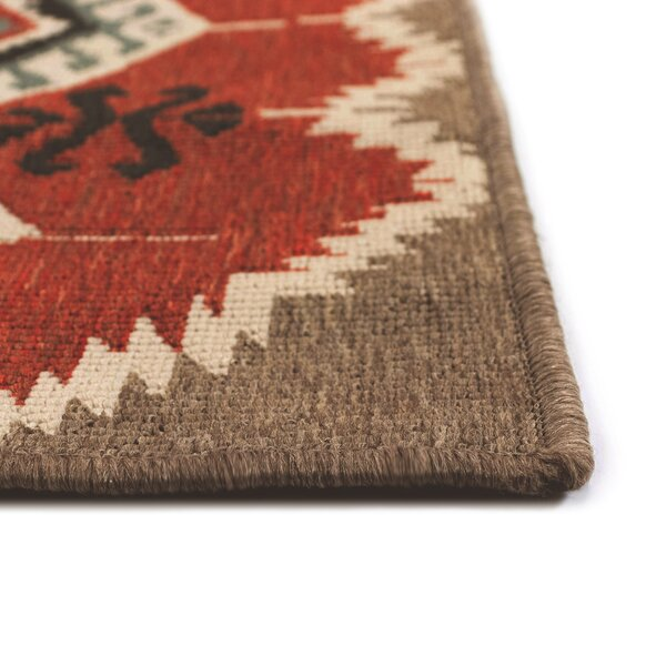 Tayler Red Indoor/Outdoor Area Rug By Millwood Pines