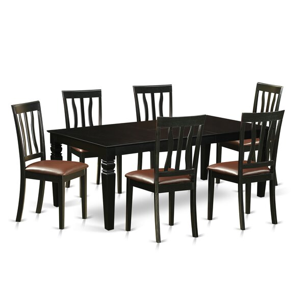 Ansari 7 Piece Dining Set by Darby Home Co