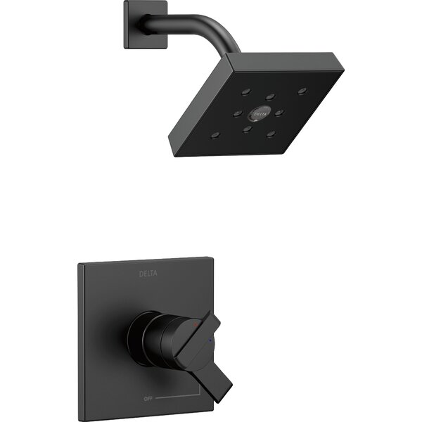 17 Series Pressure Balance Shower Faucet Trim with Monitor by Delta