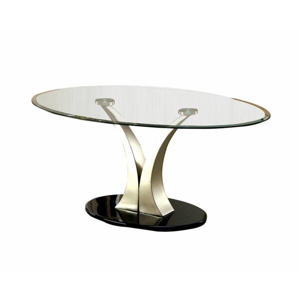 Monrovia Pedestal Coffee Table by Orren Ellis Orren Ellis