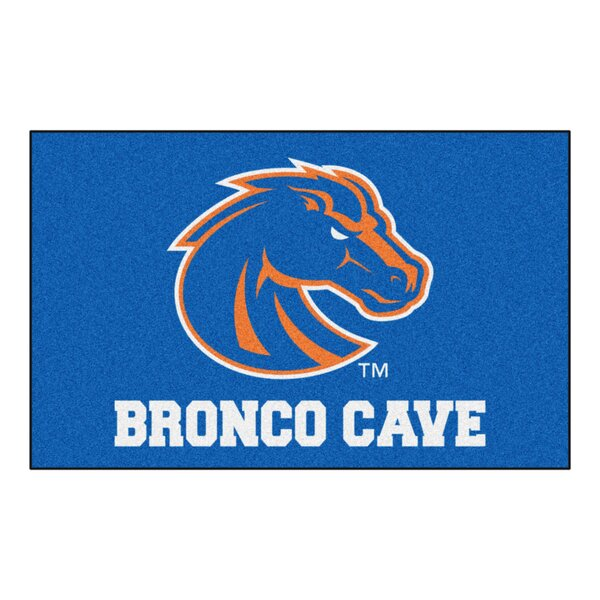 Collegiate NCAA Boise State University Man Cave Doormat by FANMATS