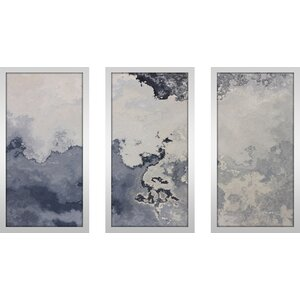 Psalm 107 7 Max by Mark Lawrence 3 Piece Framed Painting Print Set by Picture Perfect International