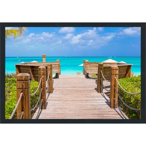 Tropical Paradise Framed Photographic Print by Picture Perfect International