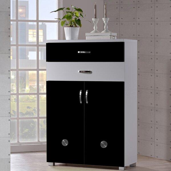 Belote 12-Pair Shoe Storage Cabinet