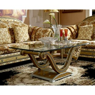 Atilia Coffee Table with Tray Top
