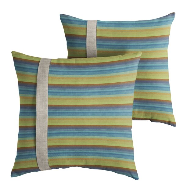 Chronister Indoor/Outdoor Throw Pillow (Set of 2) by Corrigan Studio