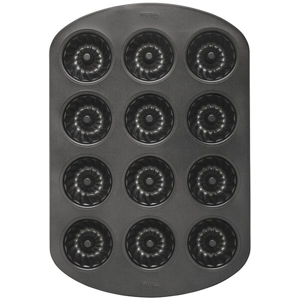 Classic Non-Stick 12 Cavity Mini Muffin Pan by Wilton