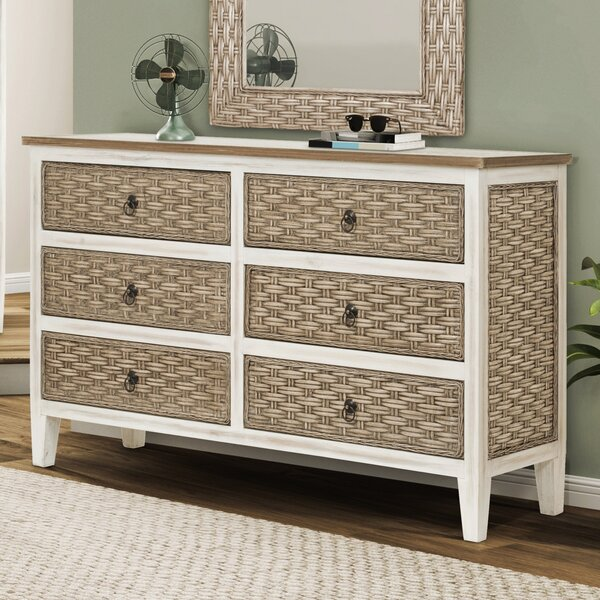 6 Drawer Double Dresser by SeaWindsTrading Co.