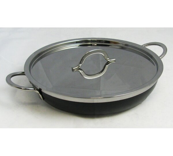 Classic Country French Saute Pan/Skillet with Lid by Bon Chef