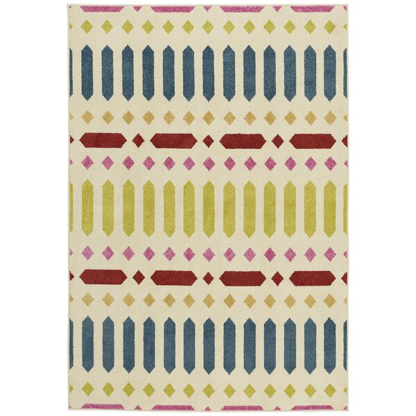 Grasso Blue/Green Indoor/Outdoor Area Rug by Bungalow Rose