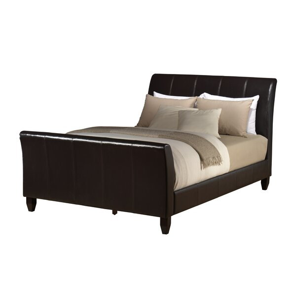 Bascomb Upholstered Sleigh Bed by Darby Home Co