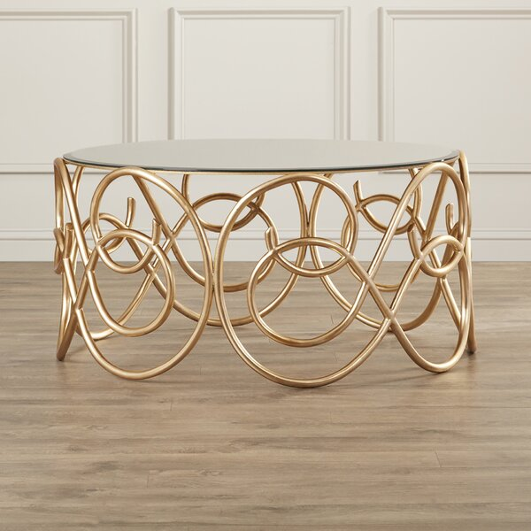 Periwinkle Coffee Table by House of Hampton