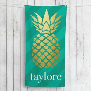 personalized beach towels wayfair