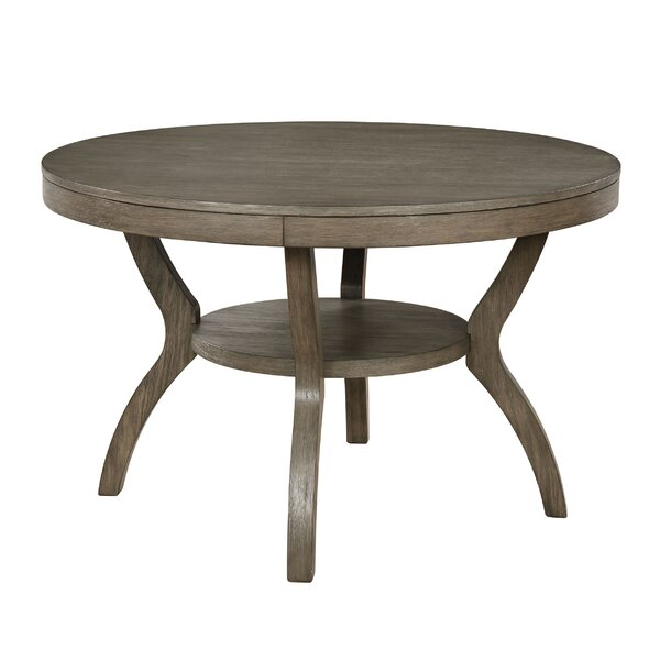 Clegg Round Dining Table by Gracie Oaks