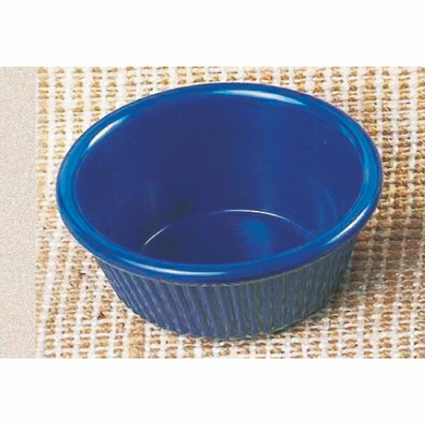 Round Melamine 3.5 Oz. Fluted Ramekin (Set of 12) by Thunder Group Inc.