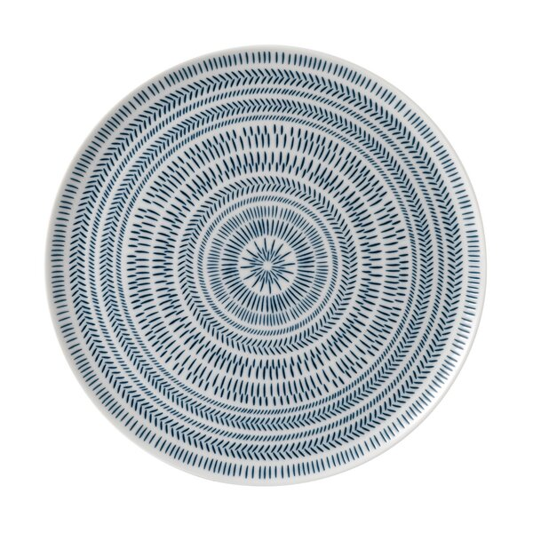 Chevron Serving Platter by ED Ellen DeGeneres Crafted by Royal Doulton