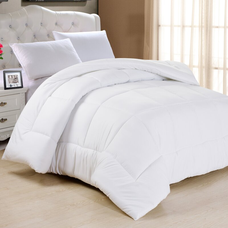Top Charlton Home Frankton Down Alternative Ultra Plush Comforter  JX31