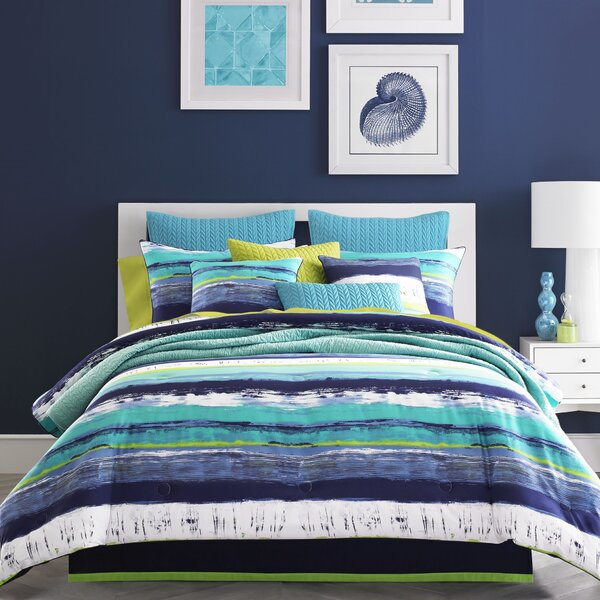 Cameron Comforter Set by Five Queens Court