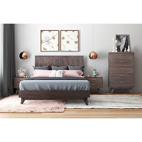Dalessio Wooden Configurable Bedroom Set by Brayden Studio
