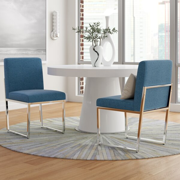 Saniveieri Upholstered Dining Chair (Set of 2) by Orren Ellis