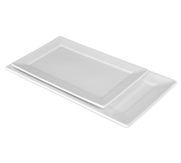 Nouveau Rectangular Platter (Set of 4) by BIA Cordon Bleu