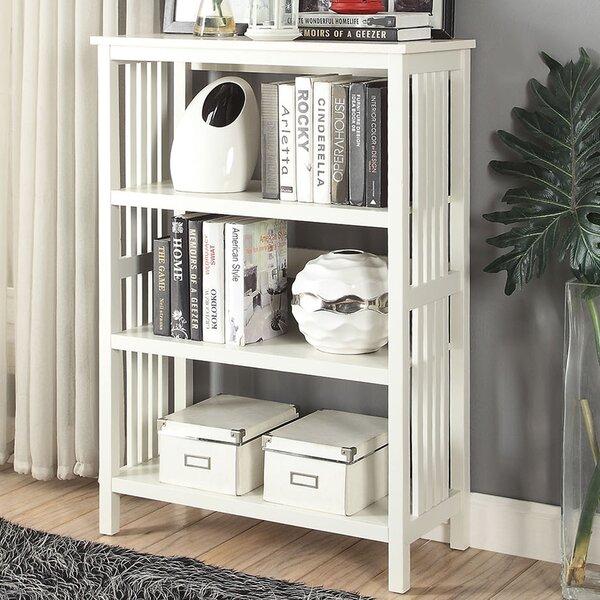 Morais 3-Shelf Standard Bookcase by Ebern Designs