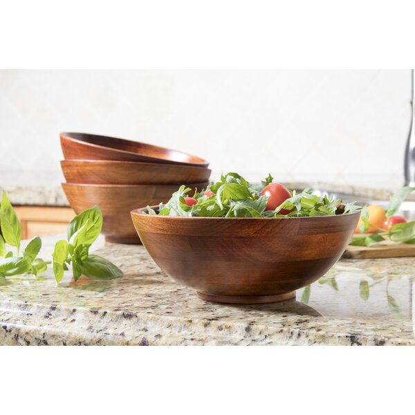 Bonroy Salad Bowl (Set of 4) by World Menagerie