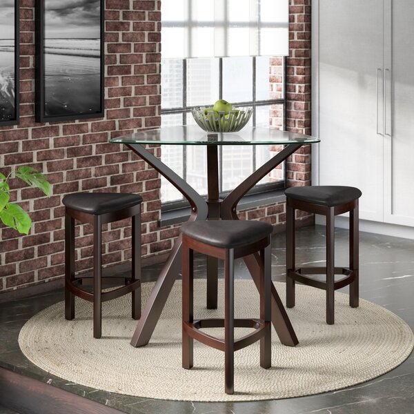 Webb 4 Piece Pub Table Set by Ebern Designs