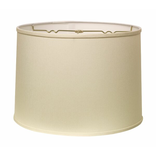 9.5 H x 13 W Fabric Drum Lamp Shade ( Spider )