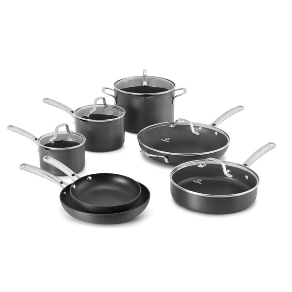 Classic 12 Piece Non-Stick Cookware Set by Calphalon