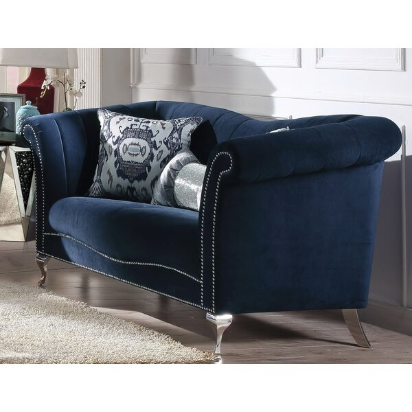 Reynolds Loveseat by Everly Quinn