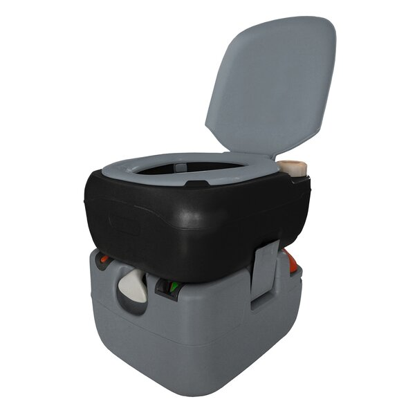 Portable 3 GPF Round One-Piece Toilet by Reliance