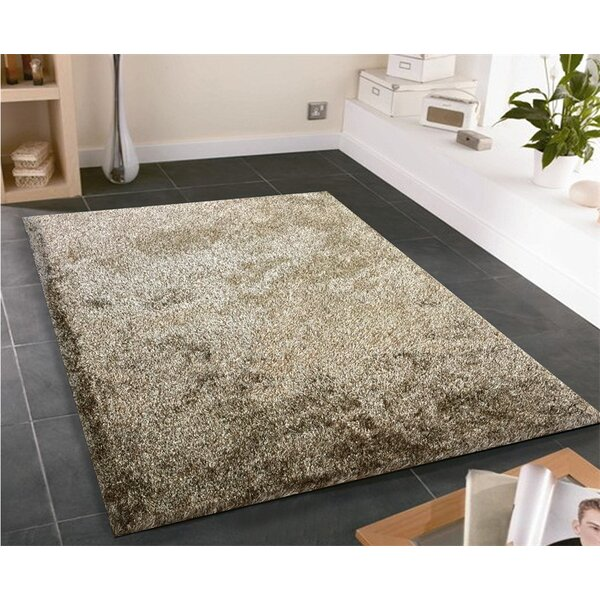 Amore Shag Brown Area Rug by Rug Factory Plus