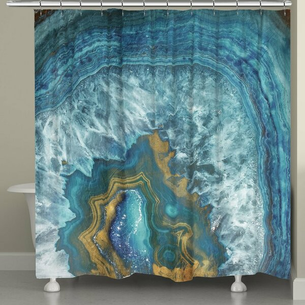 Griton Mineral Shower Curtain by Ivy Bronx